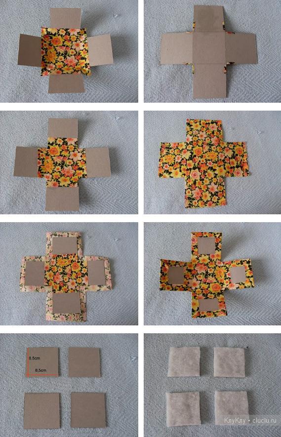 Шкатулка для рукоделия, коробочка для мелочей своими руками
