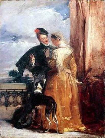 «Эми Робсарт и Роберт Дадли»  Источник: wikipedia.org<br>